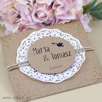 Niuanse związane z wypisywaniem zaproszeń ślubnych