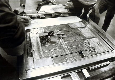 Techniki druku a drukarnia