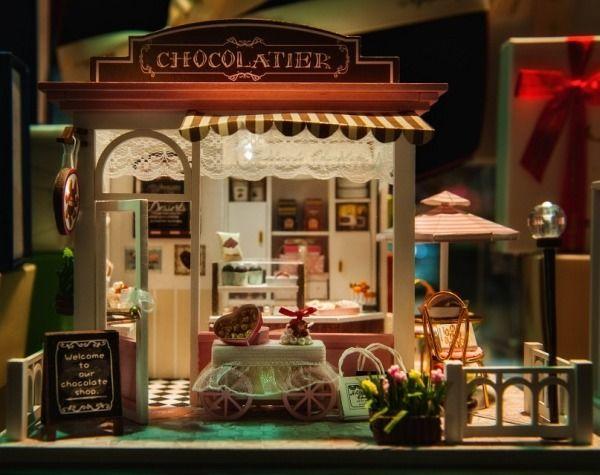 Miniaturowe chatki jako dobry pomysł na prezent