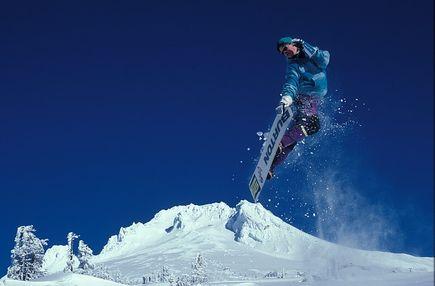 Styl współczesnego snowboardzisty