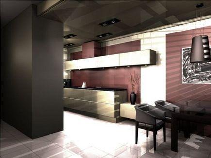 Jak wydzielić przestrzeń kuchenną z salonem