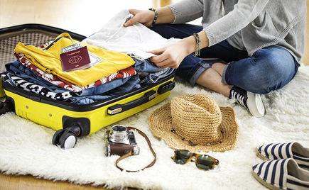 Jak dobrze spakować niewielką walizkę?