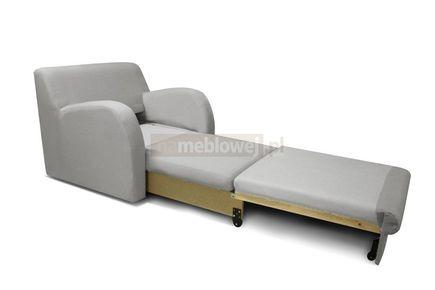 Fotel rozkładany 1 osobowy - wygodny i modny