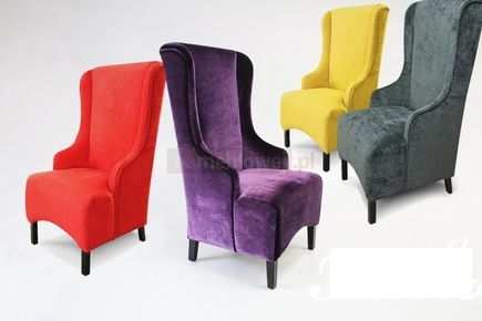 Stylowy fotel do salonu