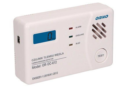 Zmniejsz niebezpieczeństwo zatrucia tlenkiem węgla (II) – wyposaż dom w czujnik czadu