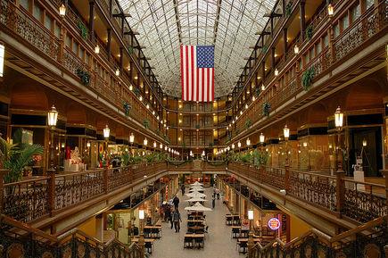 Historyczne centra handlowe w USA