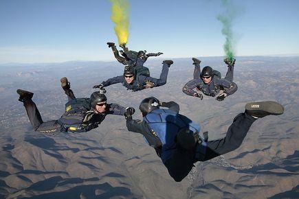 Niezapomniane przeżycie – skok spadochronowy