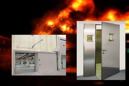 Dlaczego warto montować drzwi i bramy przeciwpożarowe?