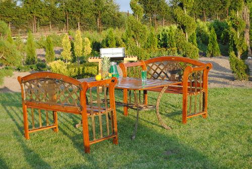 ławki ogrodowe , meble ogrodowe