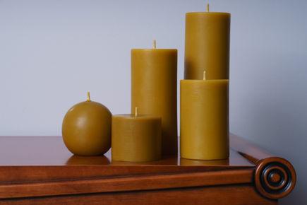 Klasyczne piękno świec z wosku pszczelego