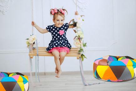 Pufa dla dziecka to doskonały dodatek dekoracyjny!