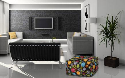 Pufy i fotele relaksacyjne z nowoczesnych materiałów