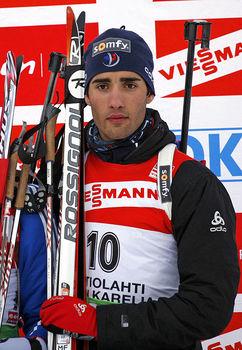 Martin Fourcade - najczęściej typowany zwycięzca poza podium
