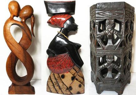Rzeźby z drewna - czy warto posiadać egzotyczne rękodzieło?