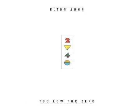 Elton John – Too Low for Zero