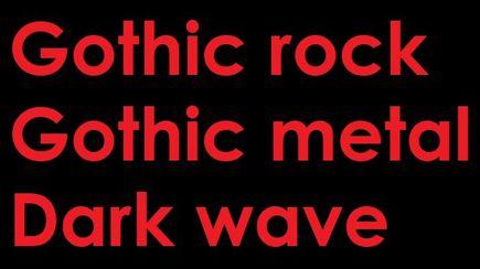 Rock gotycki od strony językoznawczej