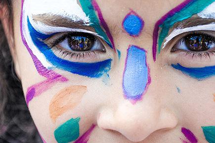 Czy malowanie twarzy dzieci jest bezpieczne?