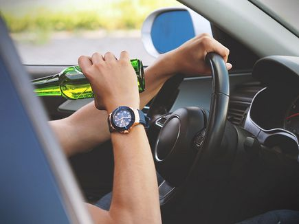 Zakaz prowadzenia pojazdów mechanicznych