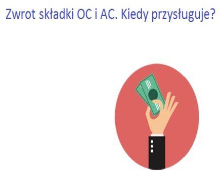 Kiedy możesz otrzymać zwrot za ubezpieczenie OC lub AC
