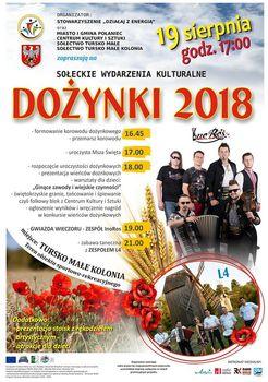 Dożynki 2018 w gminie Połaniec