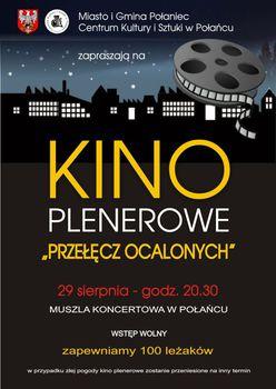 PRZEŁĘCZ OCALONYCH - Rusza kino plenerowe w Połańcu!