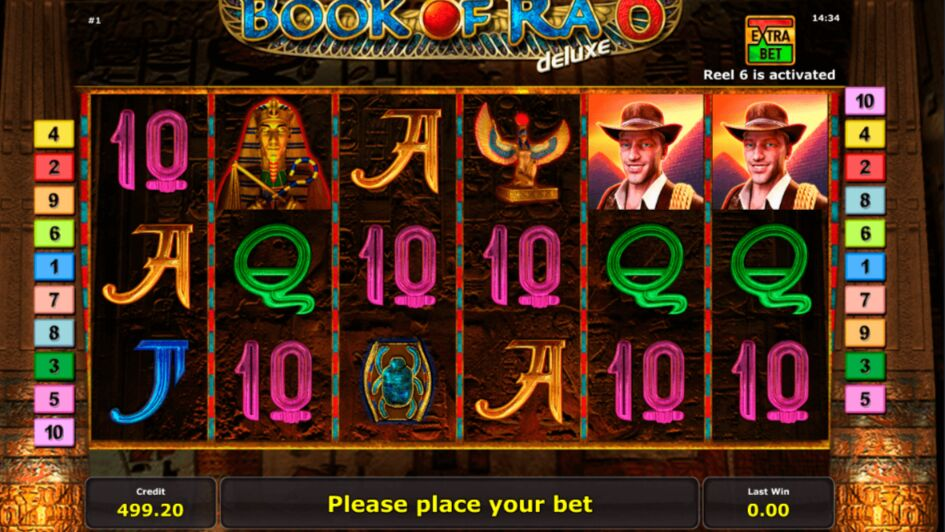 Recenzja Book of Ra Slot