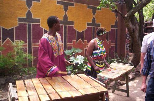 Zulu wioska
