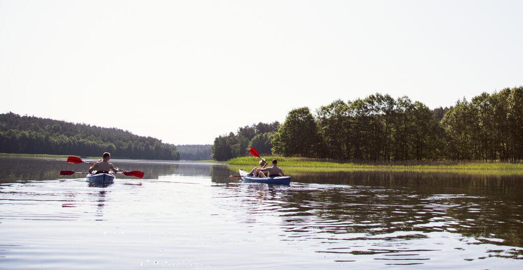 Rzeki Pomorza - spływy kajakowe rzeką Wdą