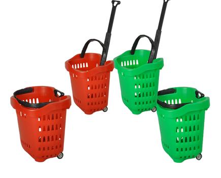 Wózki i koszyki sklepowe