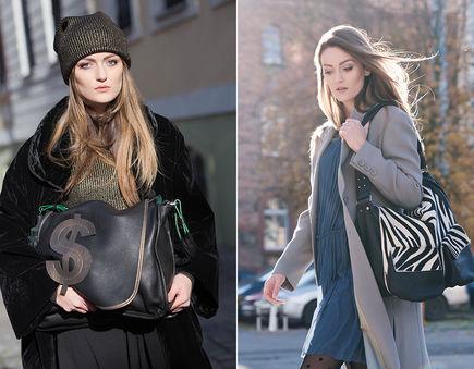 Eleganckie torby dla kobiety kameleona