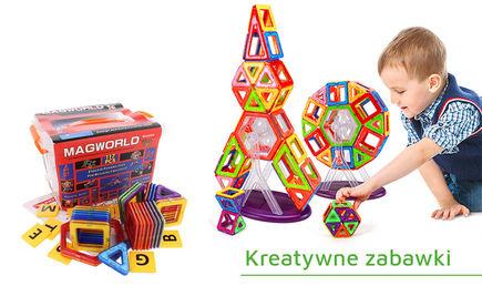 Kreatywne i edukacyjne zabawki dla dzieci