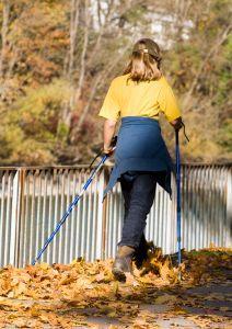 Nordic Walking zamiast Nart
