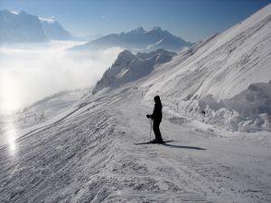 Narty i odzież narciarska w promocji