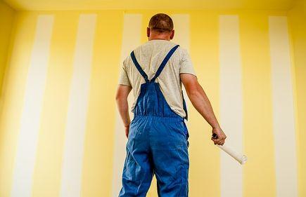 Technika malowania ścian krok po kroku