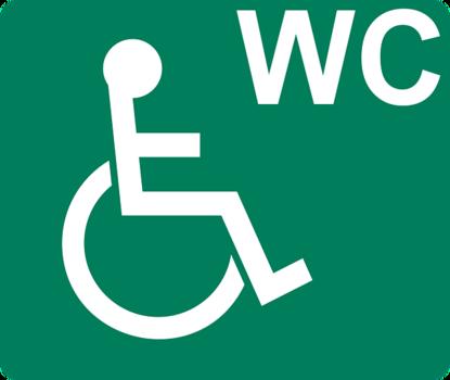 Łazienka z bidetem dla osób niepełnosprawnych