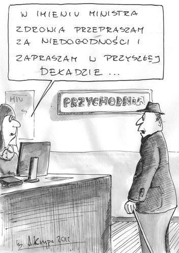 komentarz rysunkowy A. Krupy