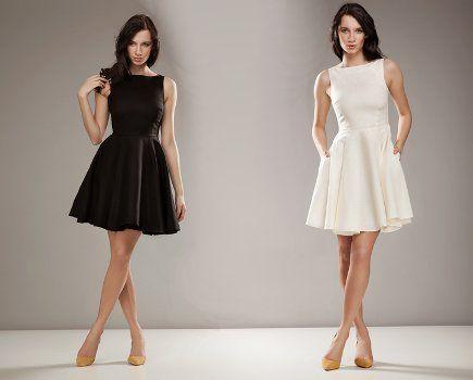 Rozkloszowane sukienki na wesele