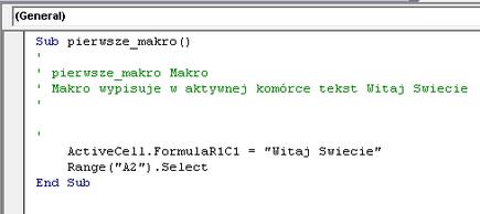Jak tworzyć Makra w MS Excel