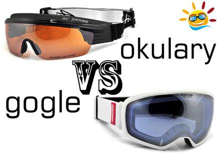 Gogle narciarskie czy okulary do sportów zimowych?