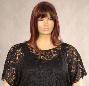 Moda dla puszystych 2013: koronki i gipiury