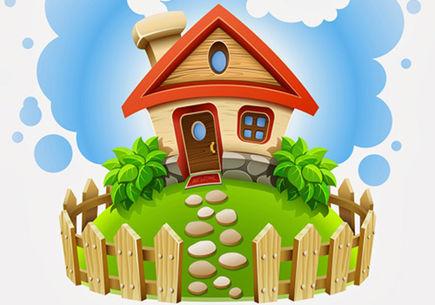 Dom z paczki