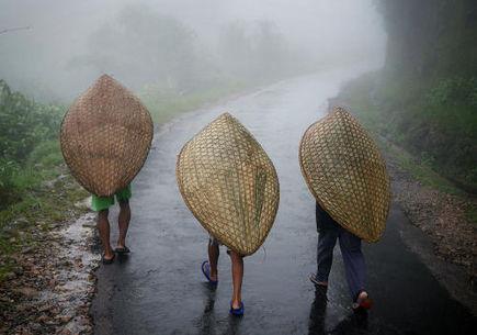 5 miejsc, w których niemal nieustannie pada deszcz