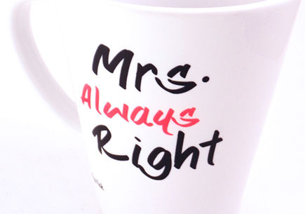 Mrs Always Right!