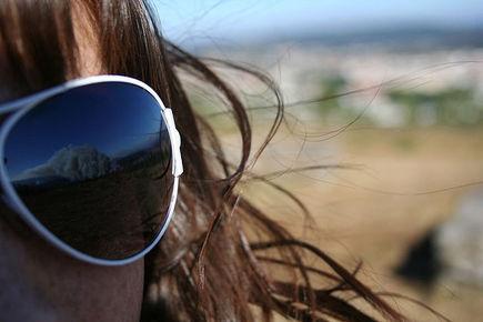 Okulary przeciwsłoneczne zimą