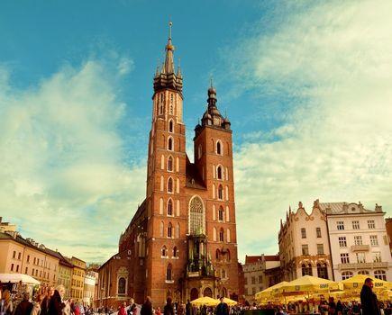 Jeden dzień w Krakowie