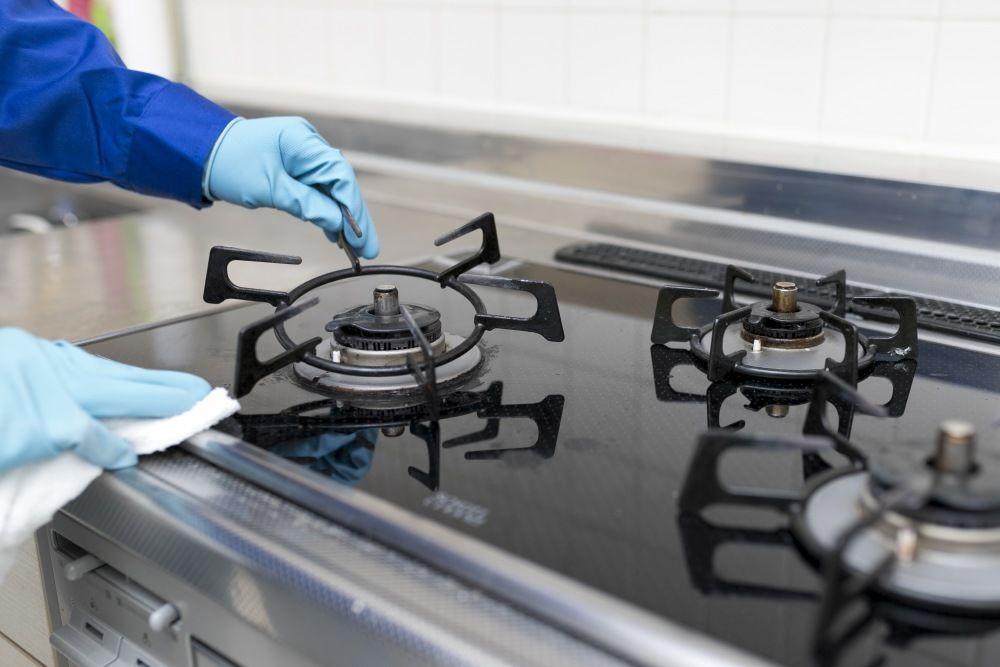 Zachowanie czystości na zapleczu kuchennym