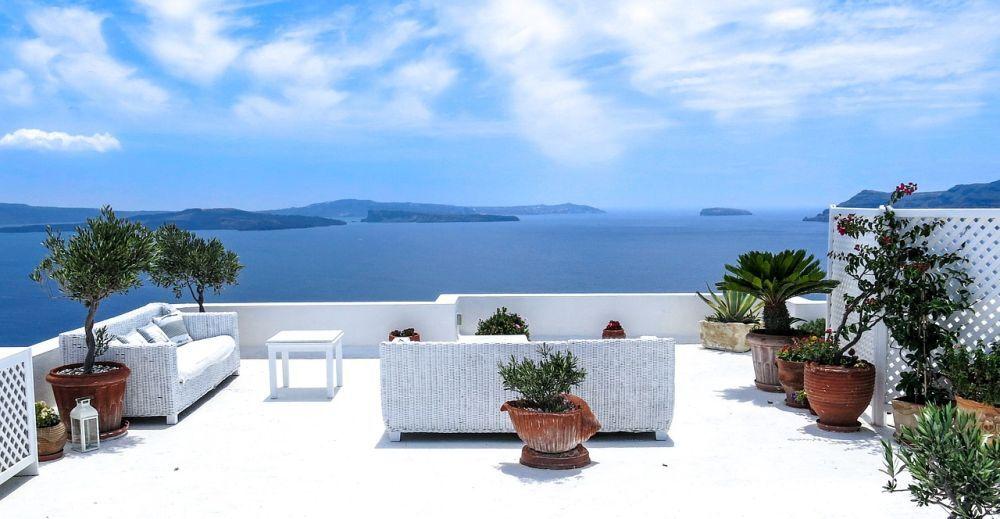 Zrelaksuj się w apartamencie z widokiem na morze