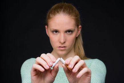 Oczyszczanie płuc po rzuceniu papierosów.