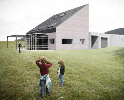 Dom zeroenergetyczny ZEH1