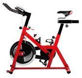 Rowerek treningowy małą siłownią w domu